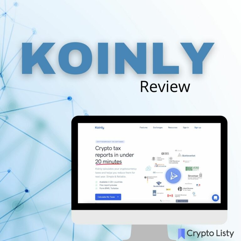 Koinly Review and Alternatives, Is It The Best?