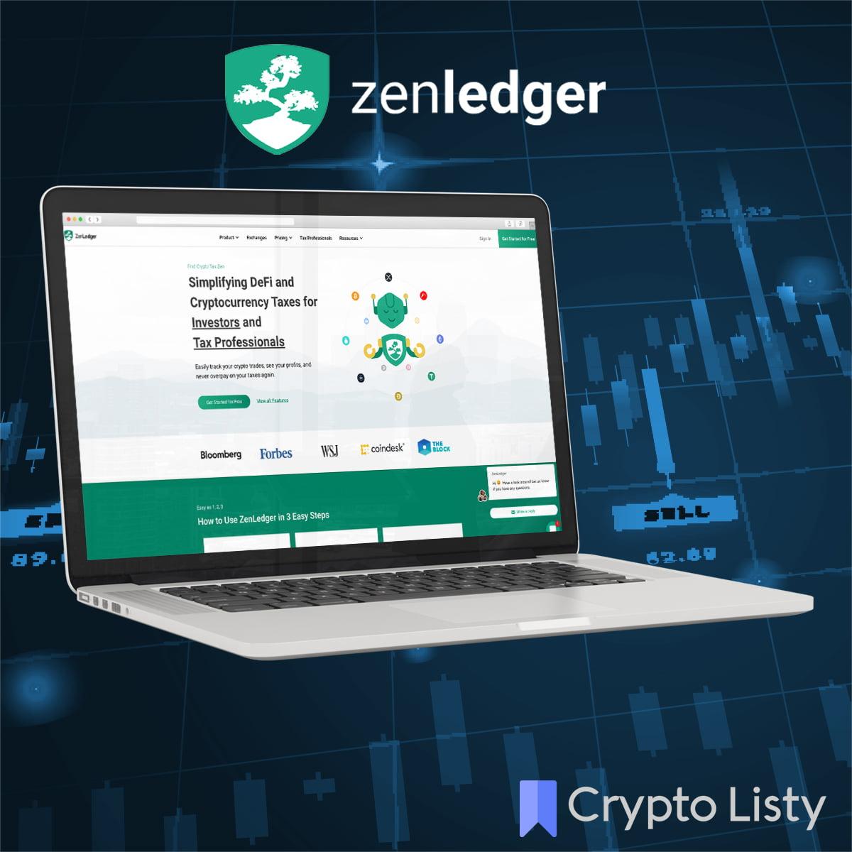 ZenLedger webiste