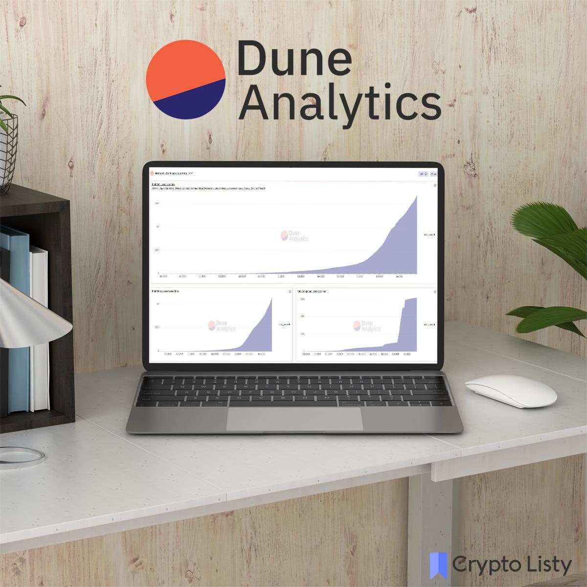 Dune Analytics website
