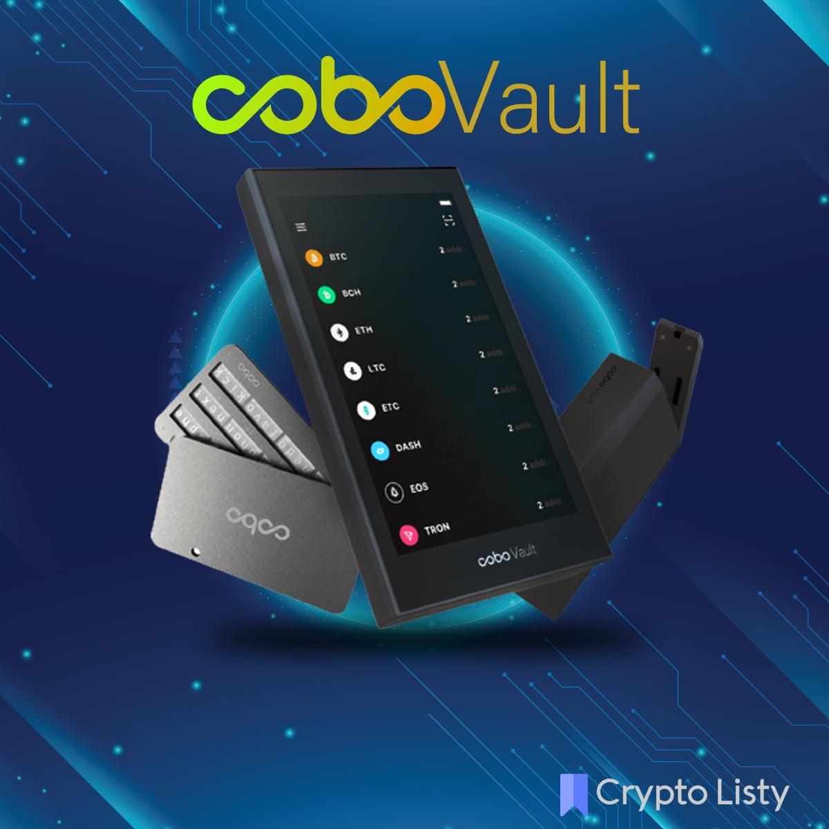 CoboVault device