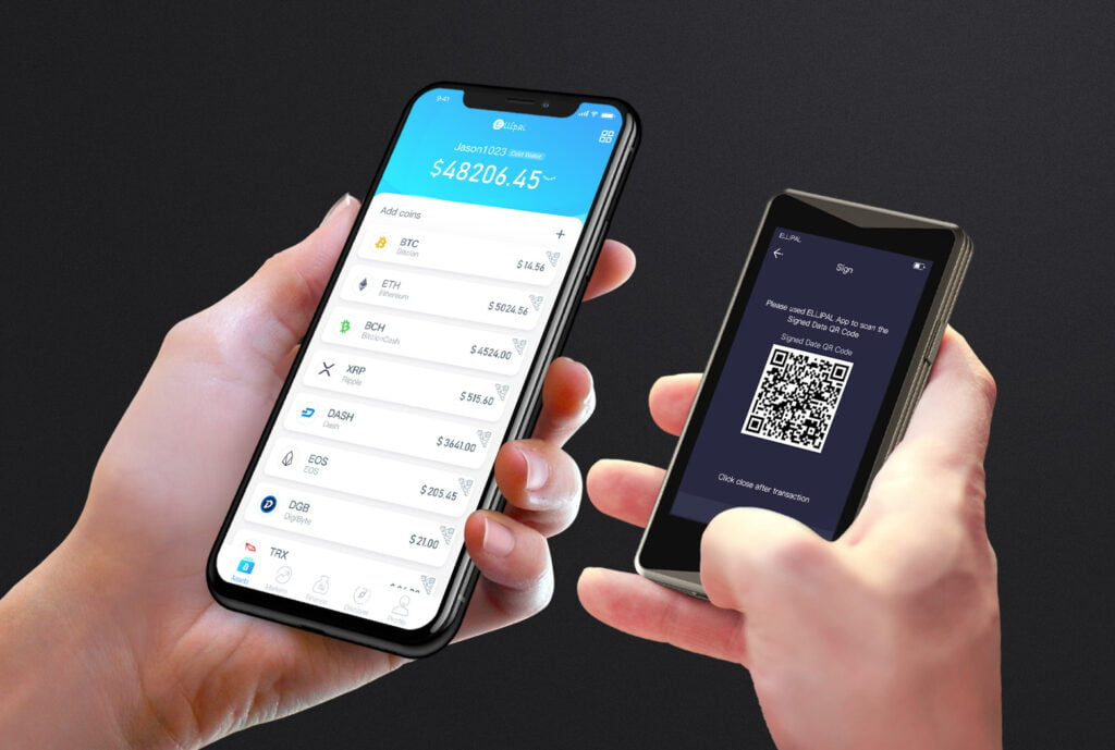 You can scan QR codes to make transactions seamlessly.