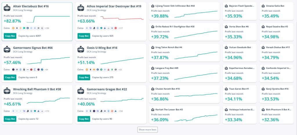3Commas DCA bots. Best copy-trading platforms