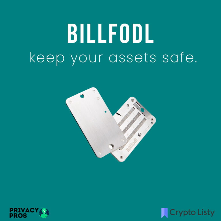 Billfodl Review and Best Alternatives.