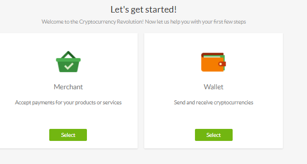 Choose your payment method.