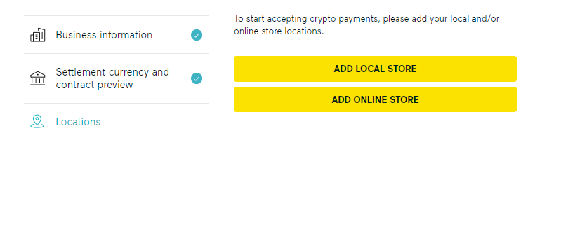 Add your store to GoCrypto.